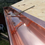 Copper Gutter from Superior Seamless Gutters